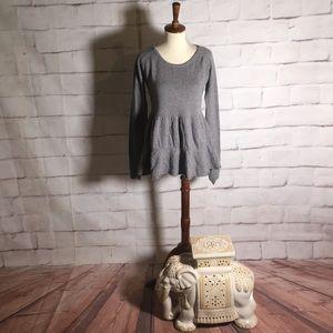 Garnet Hill Cashmere Long Sleeve Blouse